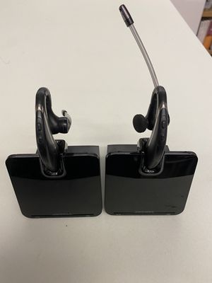 Two (2) Plantronics c053 headset systems for Sale in New York, NY