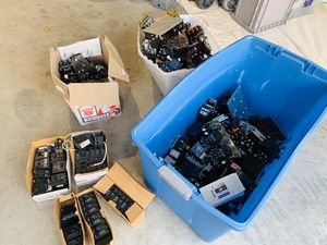 Huge Lot Square D Cutler Hammer Different Electrical Industrial Breakers for Sale in Mukilteo, WA