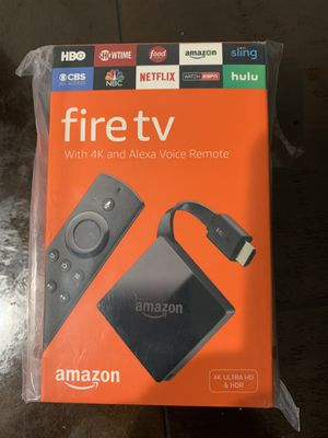 Amazon fire tv 4K ultra HD & HDR **BRAND NEW ** for Sale in Mechanicsburg, PA