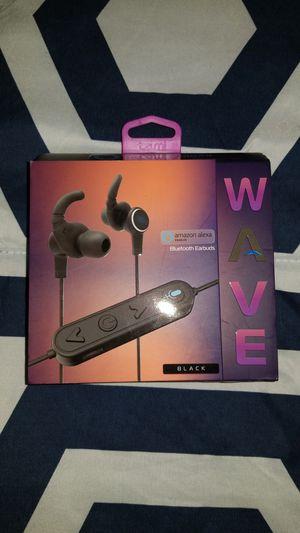 Amazon Wave Bluetooth Earbuds (Black) for Sale in Morton Grove, IL