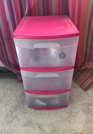 Sterlite 3 drawer storage container for Sale in Euclid, OH
