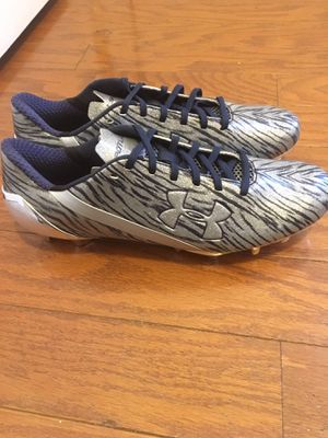 Under armour football cleats for Sale in Manassas, VA