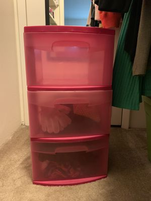 Pink Storage Container for Sale in St. Louis, MO