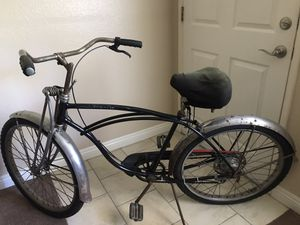 Old school heavy duty Schwinn with S7 rims new tires and tubes they just need to be aired up 300 is what I would like I will not go below 275 Thank for Sale in Santee, CA