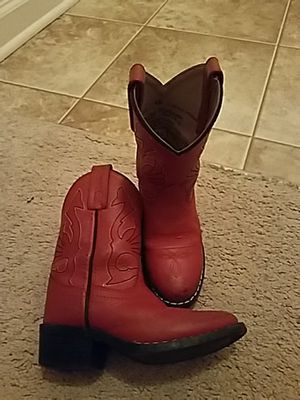Girls size 10 cowboy boots from Nashville! for Sale in Ashburn, VA