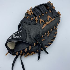 """Mizuno 12"""" GXF-100 D Youth Baseball First Base Mitt Right Hand Throw Glove Black for Sale in Charlotte, NC"""