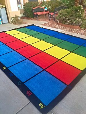 Classroom Rug 30 Spots ABC Primary Colors Brand New!! for Sale in Glendale, AZ