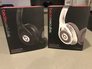 Beats By Dre Executive Headphones (Like New Condition) for Sale in Tacoma, WA