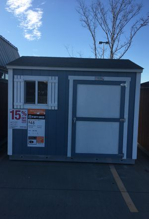 (1832) Tuff Shed TR700 8x10 was $3,032 now $2,577 for Sale in Houston, TX