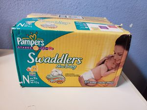 Pampers newborn diapers for Sale in Edmonds, WA