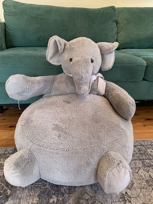 Elephant figural plush Kids chair for Sale in Redwood City, CA
