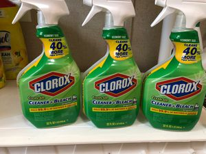 Clorox cleaner and bleach for Sale in Dudley, NC