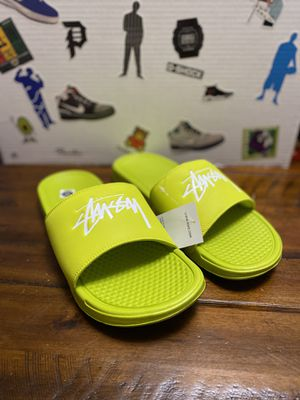Nike Stussy Slides for Sale in Hialeah, FL