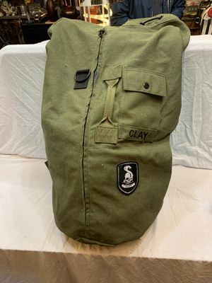 Heavy canvas duffle bag. Nice! for Sale in Woodinville, WA