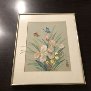 Framed Butterfly Picture for Sale in Norfolk, VA