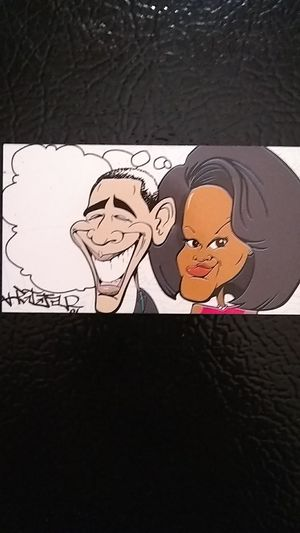 Obama magnet, cartoon caricature for Sale in Washington, DC