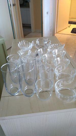 Assorted glassware for Sale in Aventura, FL
