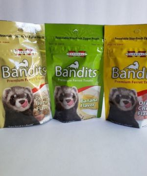 Ferret Marshall Bandits Treats 3 Pack for Sale in Chula Vista, CA