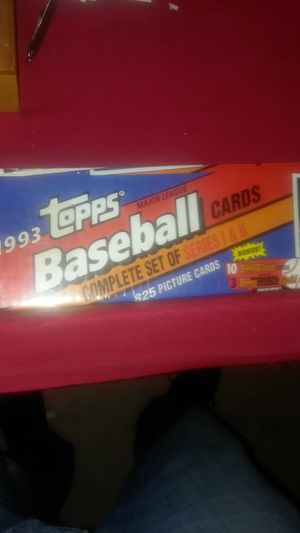 1993 topps baseball cards complete set for Sale in Asheboro, NC