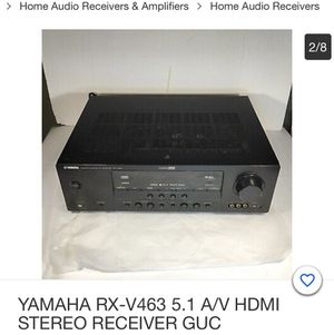 Yamaha RX -463 Stereo receiver for Sale in Scottsdale, AZ