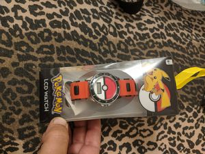 Pokemon new in box LCD TV watch make offer for Sale in Seven Hills, OH