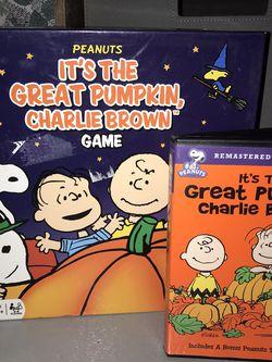It's The Great Pumpkin, Charlie Brown DVD & Board Game for Sale in Santa Teresa,  NM