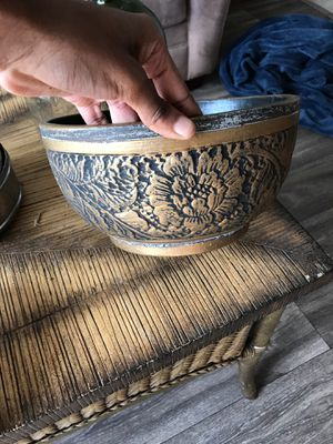 Brass bowl for Sale in Tampa, FL