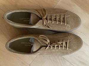 Common Projects suede tan size 45 for Sale in Washington, DC