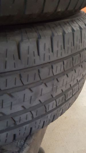 Well care 255 65 18 . Got 20s not longer need this ones .. at least a year more off life on this tires. Duelers HL alenza. Made to last 80,000 miles . for Sale in Pompano Beach, FL