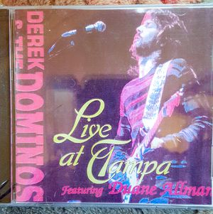 Derek & The Dominos with Duane Allman Live at Tampa 1970 & Eric Clapton New 2 CD import for Sale in Richmond, VA
