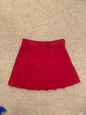 American Apparel red mini skirt for Sale in San Ramon, CA