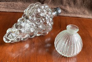 Antique Grape bottle and decanter for Sale in Joliet, IL