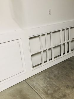 Solid Wood White Barn Door 36x96 for Sale in North Bend,  WA
