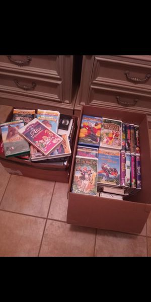 Disney vhs tapes for Sale in Loxahatchee, FL