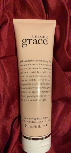Amazing Grace Shimmering Body Lotion for Sale in Avis, PA