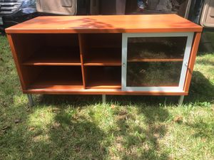 Brown TV stand for Sale in Takoma Park, MD