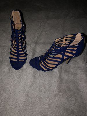 Mixx Royal Blue Heels for Sale in Bakersfield, CA