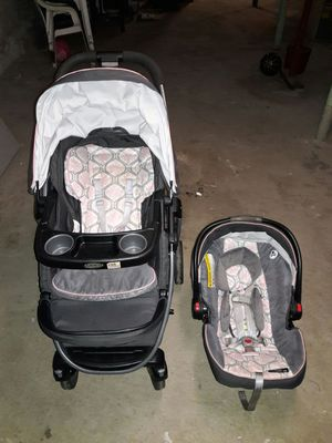 Graco stroller and car seat for Sale in Boston, MA