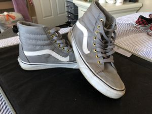 VANS- Gray high tops for Sale in St. Louis, MO