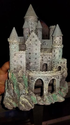 Aquarium fish tank decorations castle for Sale in Orlando, FL
