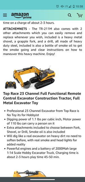 Top race excavator new for Sale in San Diego, CA