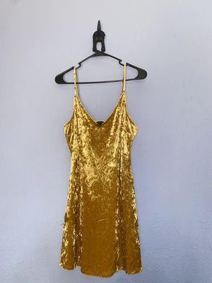 Forever 21 Velvet Gold Dress ✨ for Sale in Los Angeles, CA
