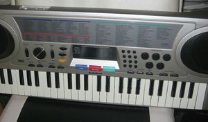 Radio Shack Midi Stereo Keyboard + Book of Scales for Sale in Brooklyn, NY