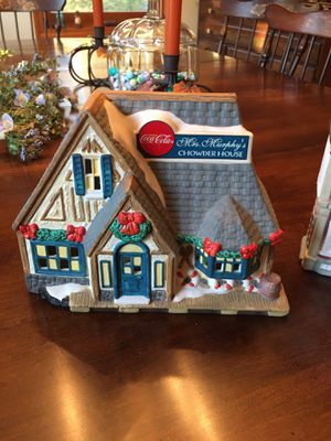Coca Cola Christmas houses for Sale in Naugatuck, CT