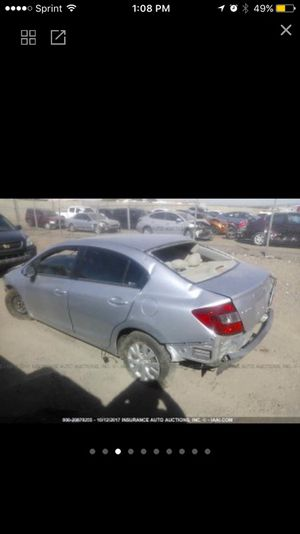🚨🚨2012 Honda Civic Parts Only🚨🚨Para Partes for Sale in Phoenix, AZ