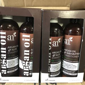 Artnaturals - Argan Oil Shampoo And Conditioner Sets Two Sets For 22, for Sale in Long Beach, CA