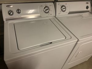 Whirlpool washer and electric dryer for Sale in Conroe, TX