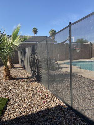 Black mesh pool fence for Sale in Chandler, AZ