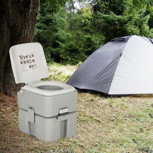 New 5.3 Gallon Portable Travel Toilet with Piston Pump Flush for Sale in Hacienda Heights, CA
