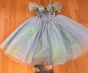 Cinderella costume with shoes for Sale in Park Ridge, IL